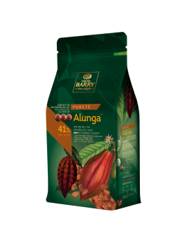 Alunga lait 41% Chocolat de couverture CACAO BARRY