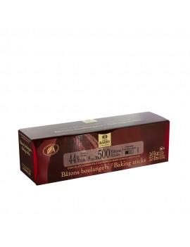 500 Bâtons boulangers au chocolat noir 44% de 8 x 0,9 x 0,5 cm CACAO BARRY