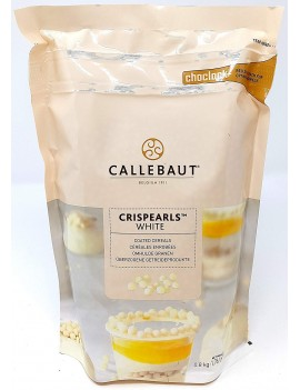 Crispearls ™  Blancs 0,8 kg CALLEBAUT