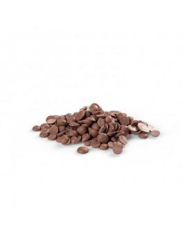 Mini grammes de chocolat de couverture lait La Laguna 47%