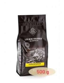 Plantation Mangaro Noir 65% Chocolat de couverture MICHEL CLUIZEL