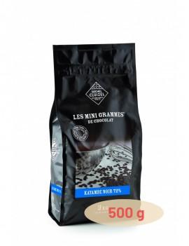 Grands Accords Kayambe Noir 72% Chocolat de couverture MICHEL CLUIZEL