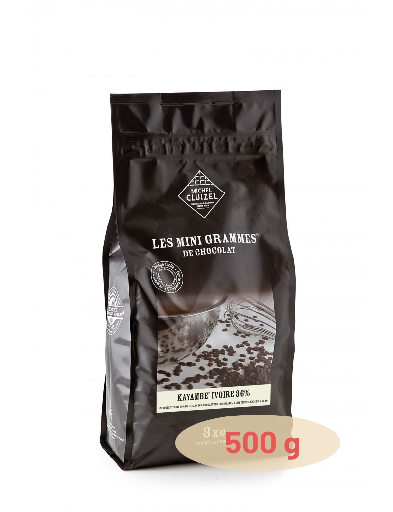 Grands Accords Kayambe Ivoire 36 % Chocolat de couverture MICHEL CLUIZEL