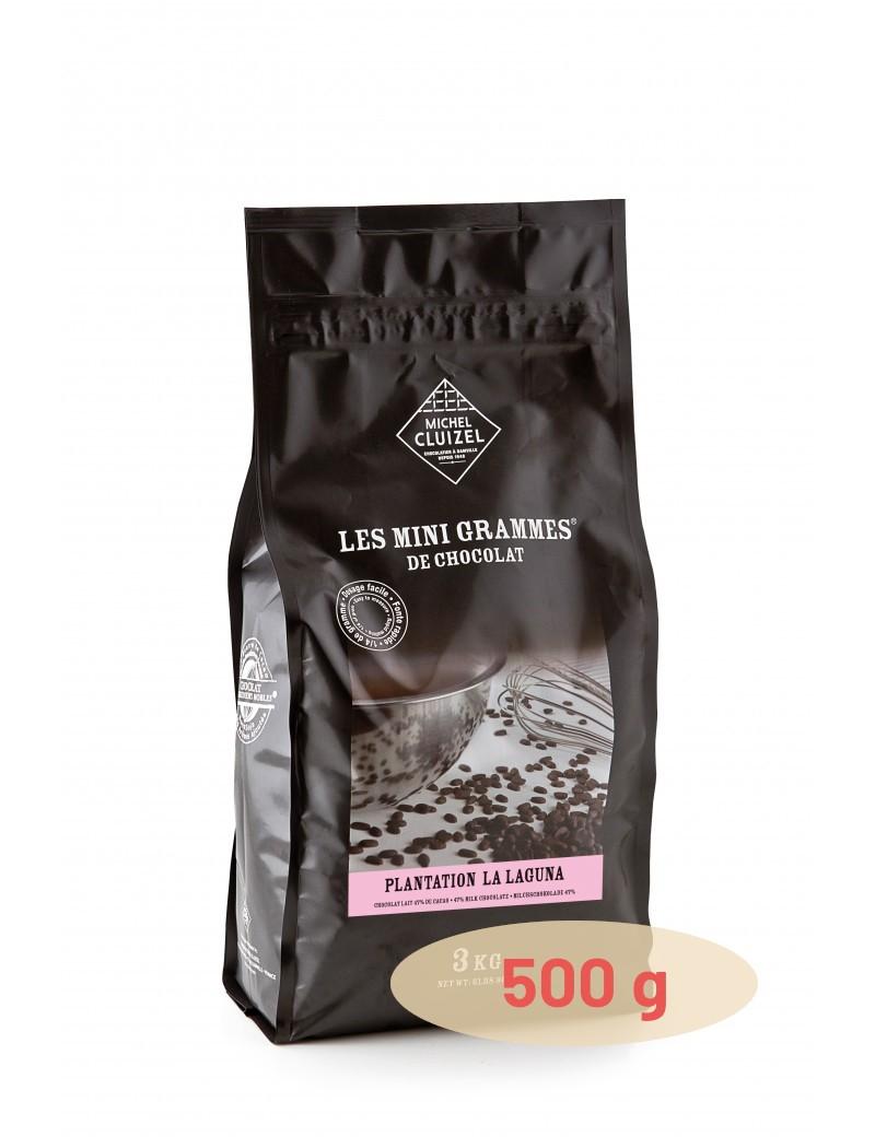 Plantation La Laguna Lait 47% Chocolat de couverture MICHEL CLUIZEL