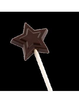 Moule sucette étoile en Tritan CACAO BARRY