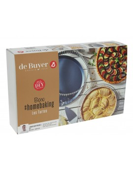 Box home baking : spécial tartes De Buyer