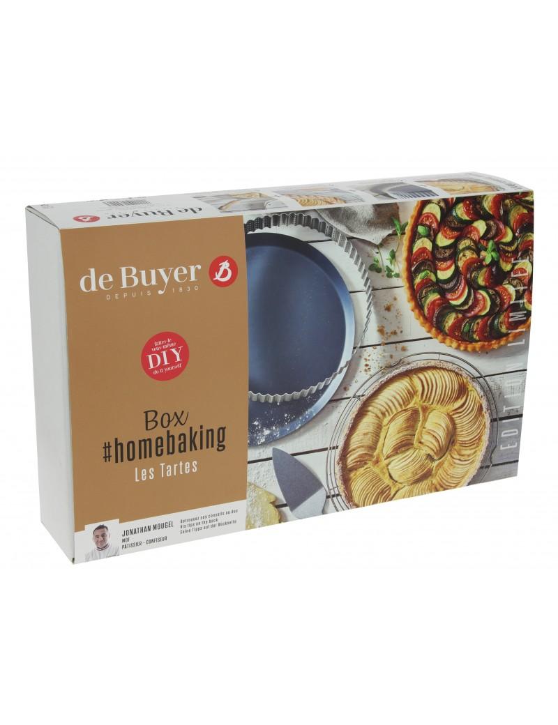 Box home baking : spécial tartes De Buyer