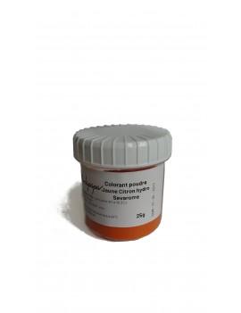 Colorant jaune citron poudre hydrosoluble professionnel SEVAROME