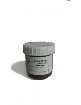 Colorant vert menthe poudre hydrosoluble professionnel SEVAROME