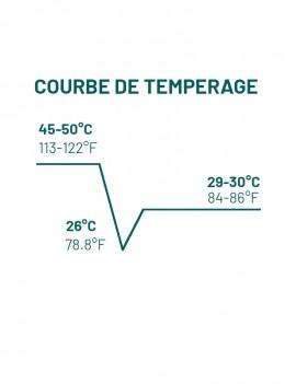 Courbes Tempérage Grands Accords Vanuari Lait 39% Chocolat de couverture MICHEL CLUIZEL
