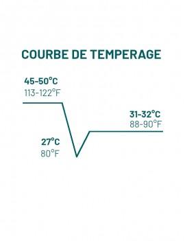 Courbes Tempérage Plantation Mangaro Noir 65% Chocolat de couverture MICHEL CLUIZEL