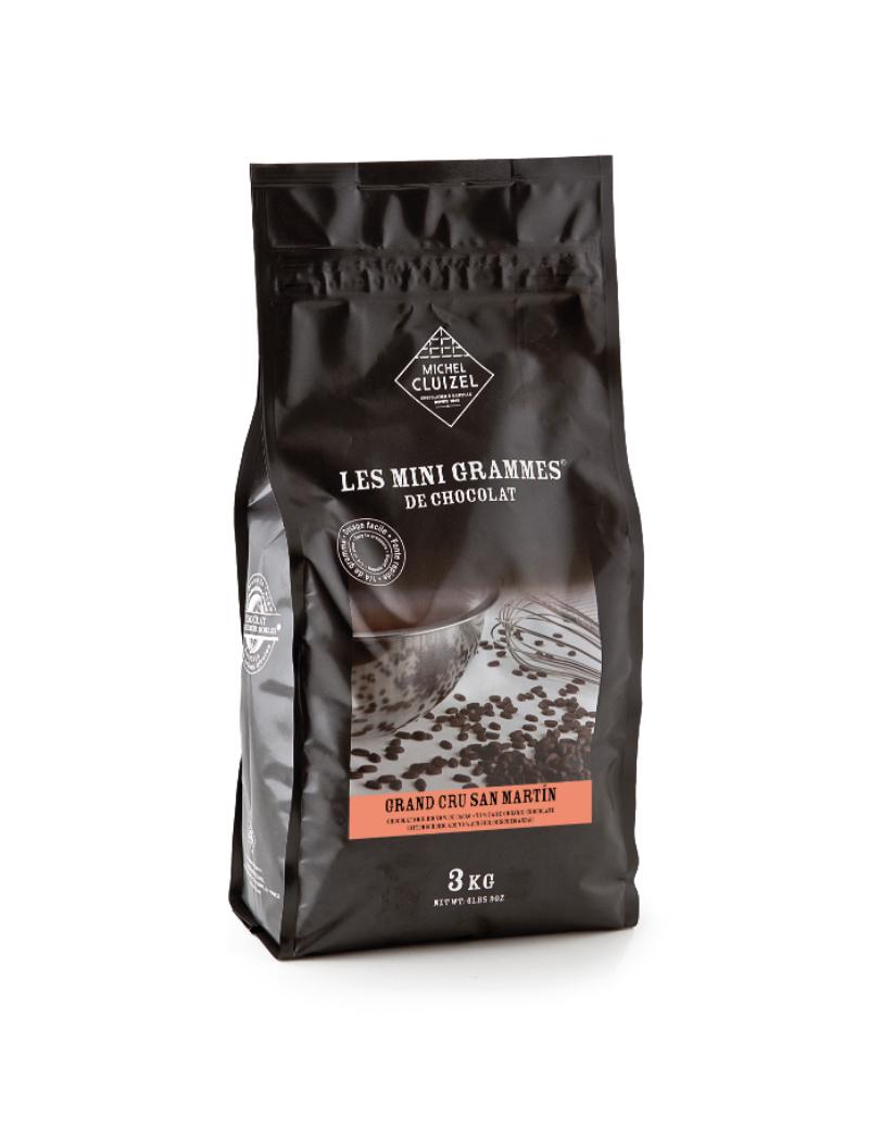 Grands Cru Bio San Martin Noir 70% Chocolat de couverture MICHEL CLUIZEL