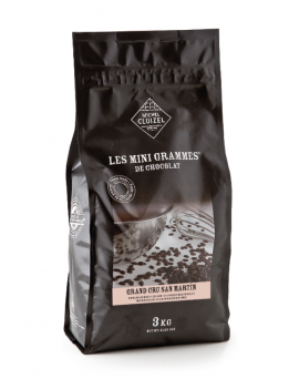 Grands Cru Bio San Martin Lait 48% Chocolat de couverture MICHEL CLUIZEL